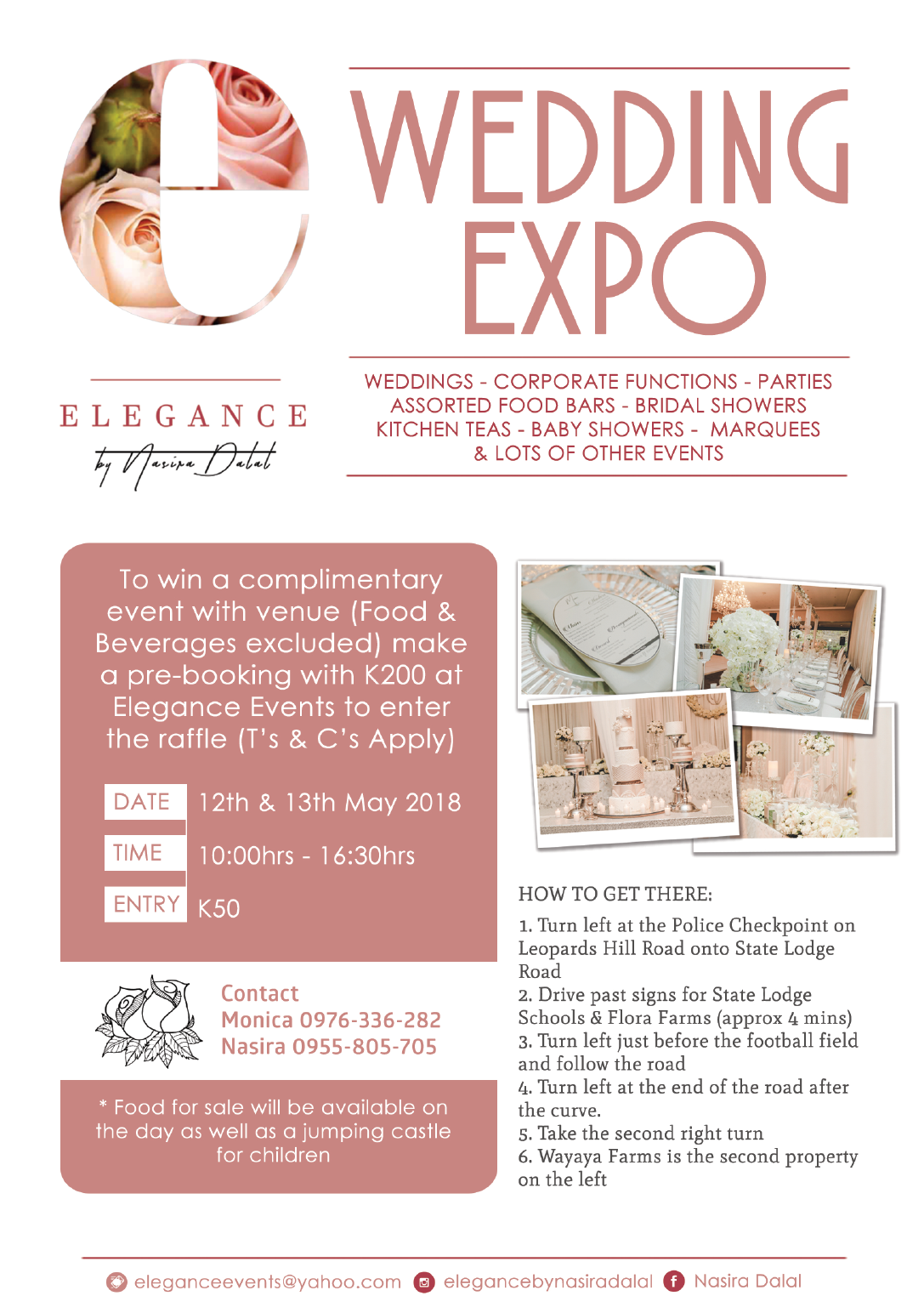 10 05 2018 - WEDDING EXPO THIS WEEKEND » Ad-dicts Ads