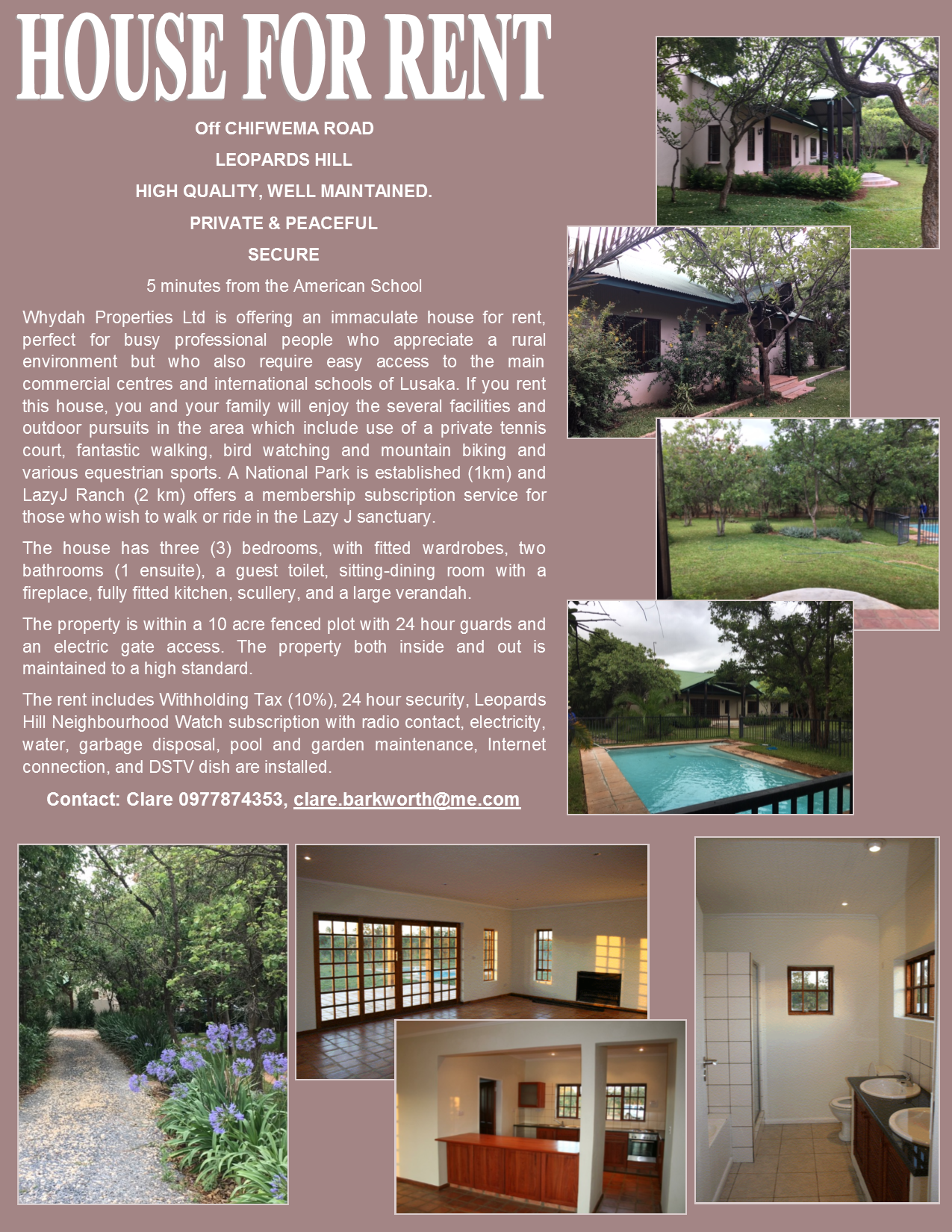 21 02 2019 - house for rent  u00bb ad-dicts ads  zambia
